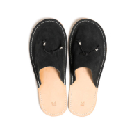 Maple HOME SLIPPERS Black (SUEDE)