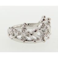 Diamond Silver Ring, Kings Daughter