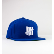 Undefeated 5 Strike Snapback - Blue