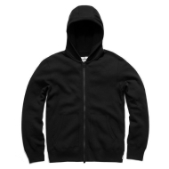 REIGNING CHAMP MESH FULL ZIP HOODY BLACK