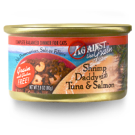 AGAINST THE GRAIN SHRIMP DADDY WITH TUNA & SALMON