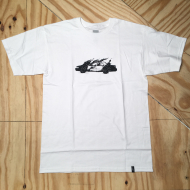 Cop Car T-Shirt White