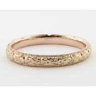 Rose Gold Band, Vintagey