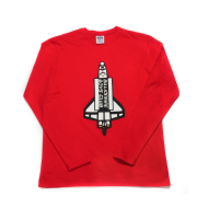 BBC BB Satellite LS Red Knit