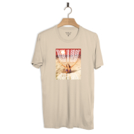 SURF IS DEAD QUICKSAND TEE CREME