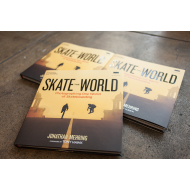 "AUTOGRAPHED ""SKATE THE WORLD"" BOOK"