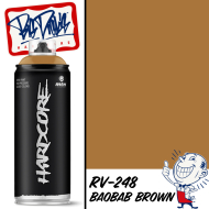 MTN Hardcore 2 Spray Paint - Baobab Brown RV-248