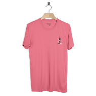 SURF IS DEAD TOES ON THE NOSE TEE PINK