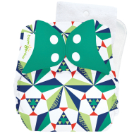 Bumgenius 5.0 - Sierpinski - Stay-Dry Cloth Diaper Limited Edition