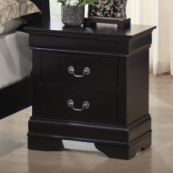 5934-20 BLACK NIGHTSTAND