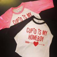 Cupid is My Homeboy Tee