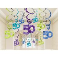 Danglers-Swirls-50th Bday-30pk