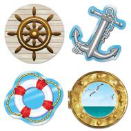 Cutouts-Nautical-4pkg-13.75""