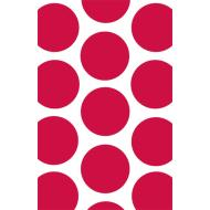 Favour Bags-Dots-Red-7'' x 4.5''-10pk