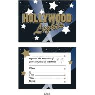Invitations-Hollywood Lights-8pkg