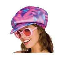 Costume Accessory-70's Disco Hat-1pkg