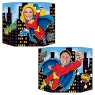 Super Hero Two Sided Photo Prop - 37x25""