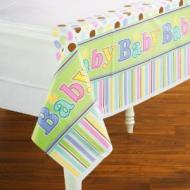 Table Cover-Baby Shower-Plastic-54'' x 102''