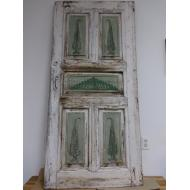 Hand carved and painted door
