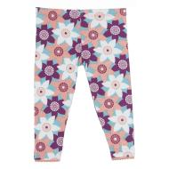 Pasqueflower Print Scalloped Legging