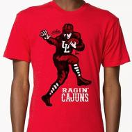 Ragin' Cajuns Player Mens Tee
