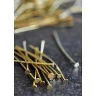 Gold Head Pins - 100/pk