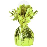 "Balloon Weight-Foil-Lime Green-1pkg-4.5""x2.25"""