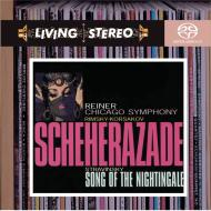 SACD Rimsky-Korsakov: Scheherazade, Stravinsky: Song of the Nightingale, Reiner/CSO