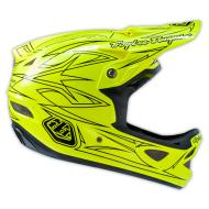 Troy Lee Designs D3 Pinstripe II (Yellow) XLarge - TLD Fluorescent