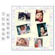 Baby Shower Game-Guess Who?-1pkg-18.5""