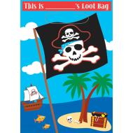 Loot Bags-Pirate-8pk