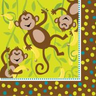 Napkins-LN-Monkeyin Around-16pkg-3ply