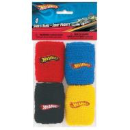Sports Band-Hot Wheels-4pk
