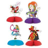 "Alice In Wonderland - Mini Centerpieces (5"")- 4pk"