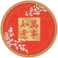 Plates- BEV- Chinese New Year-8pkg-Paper (Seasonal)