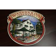 Woodstock Inn Large Tin Tacker Sign