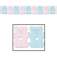 Garland-Tissue-Teddy Bears-1pkg-12ft