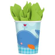 Cups-Ahoy Baby-Paper-9oz-8pk - Discontinued