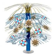 Centerpiece-Metallic Cascade-Nautical-1pkg-18""