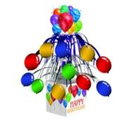 Centerpiece-Foil Cascade-Balloon Blast Birthday-1pkg-14.5""