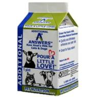 Answers Raw Goat's Milk 1 QUART