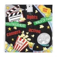 Napkins-BEV-Hollywood Movie Night-16pkg-2ply