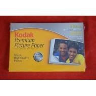 KODAK Premium Picture Paper NEW Sealed 75 Sheets HIGH GLOSS 4x6 59 lb 8 mil