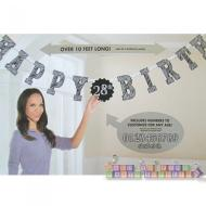 "Jumbo Letter Banner Kit -""Happy Birthday"" Add An Age (Over 10 Feet Long!)"
