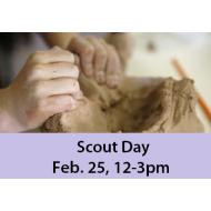Scout Day February 25,  12:00-3:00 PM