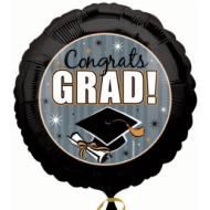 Foil Balloon - Congrats Grad Honors - 18""