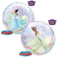 Plastic Bubble Balloon-The Princess and The Frog-1pkg-22""