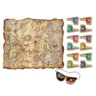 Party Game-Pirate Treasure Map-1pkg-18.5""