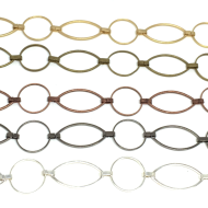 Circle and Oval Link Chain