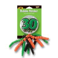 Bubble Sticker-30th Birthday-1pkg